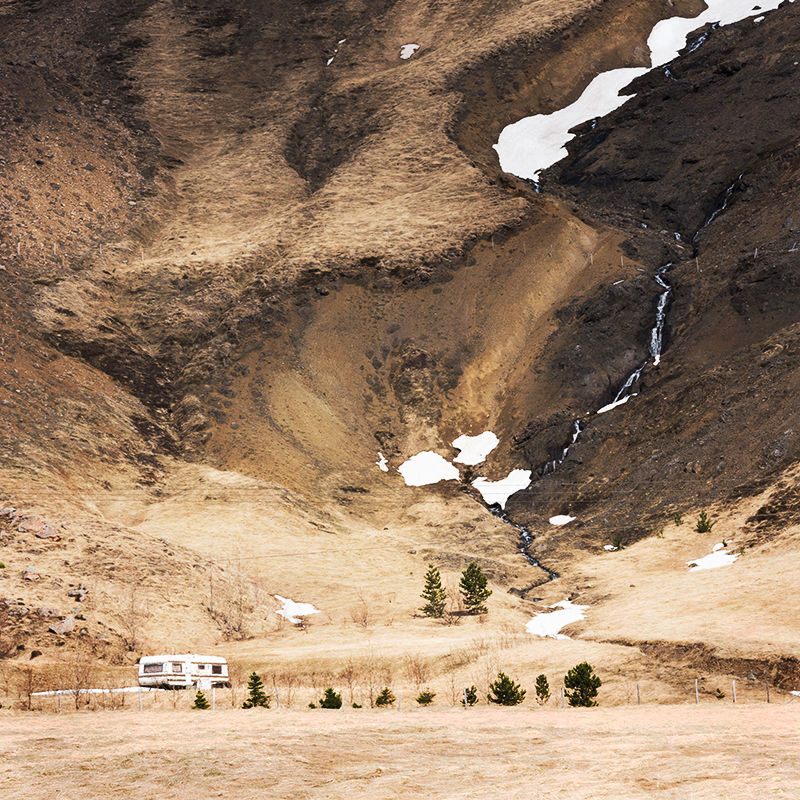 Rugged hillside