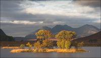 Loch Droma sunlight