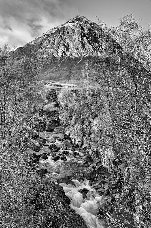 River Etive beneath Stob Dearg [print]