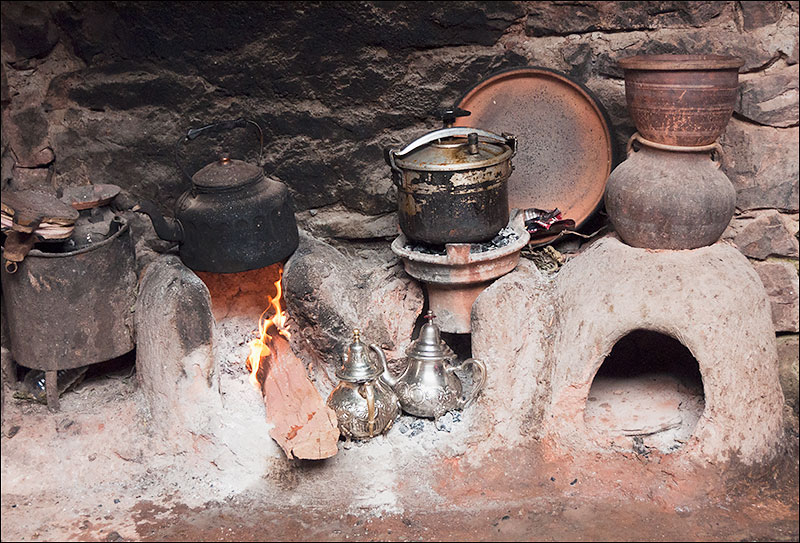 Rural village kitchen