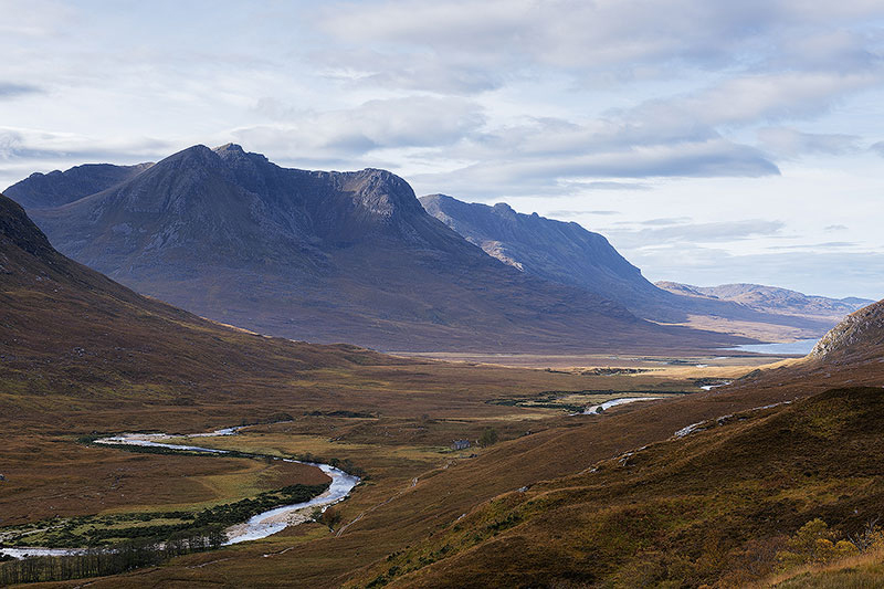 A valley in the Highlands.