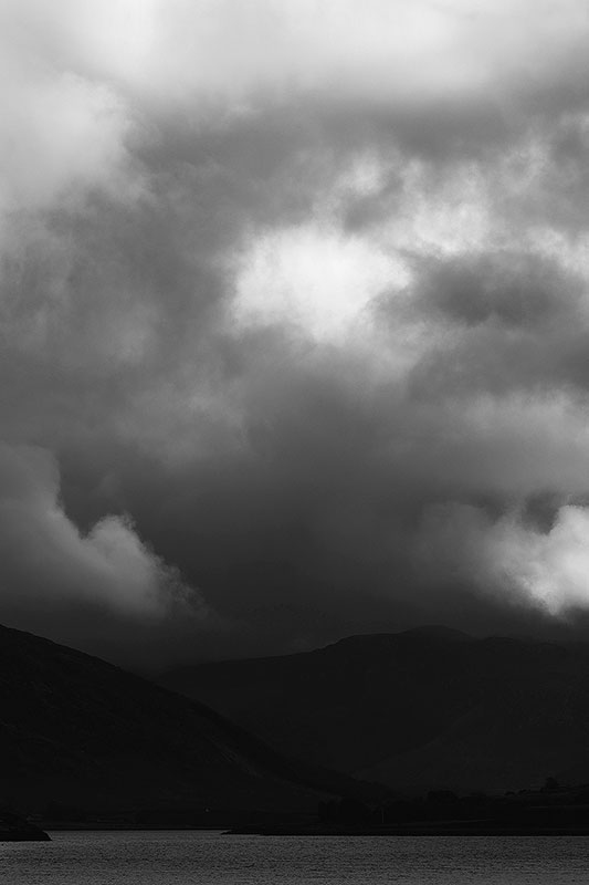 Storm clouds above Loch Broom