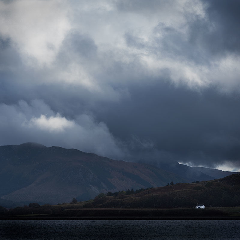 Storm clouds over Loch Broom