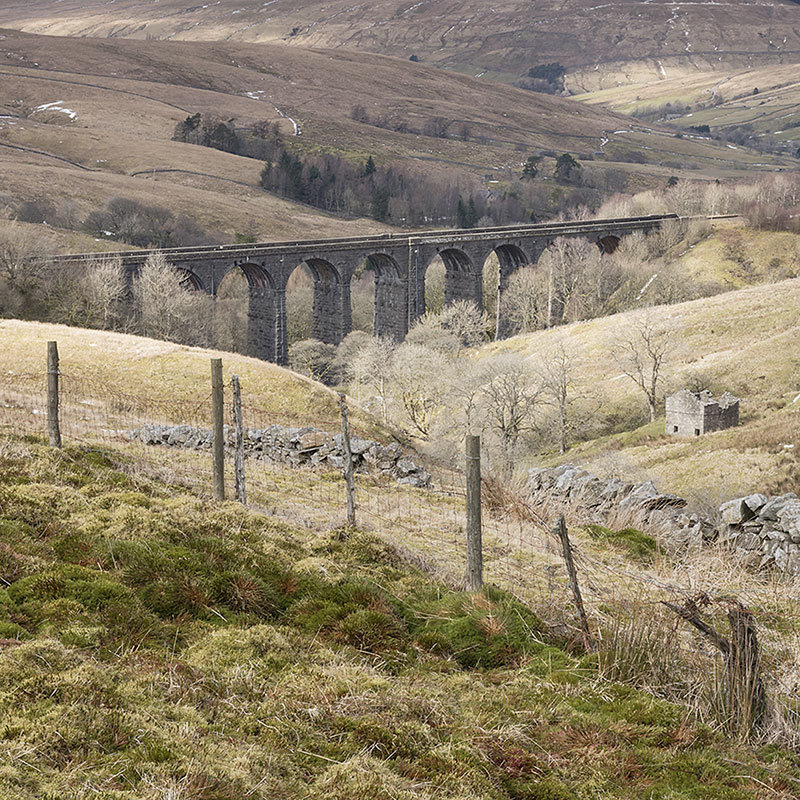 Settle-Carlisle railway viaduct
