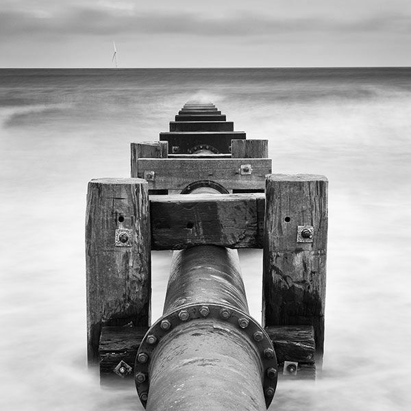 Pipeline out to sea