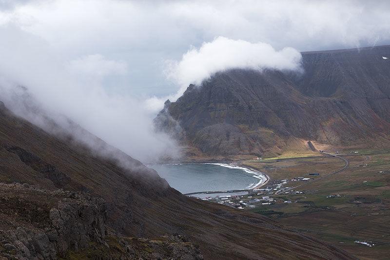 View over Isafjardur