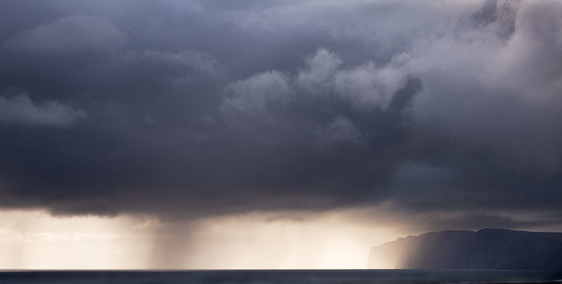 Incoming storm