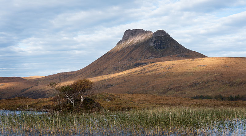 Stac Pollaidh over Loch Lurgan