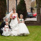 Bride & Groom and Children