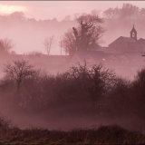 Image 4 Welsh Chapel in mist at sunset