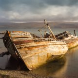 The old boat, Salen Bay, Mull
