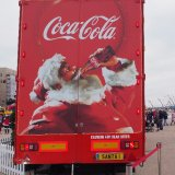 Coca Cola Christmas Truck in Blackpool