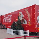 Coca-Cola Christmas Truck in Blackpool