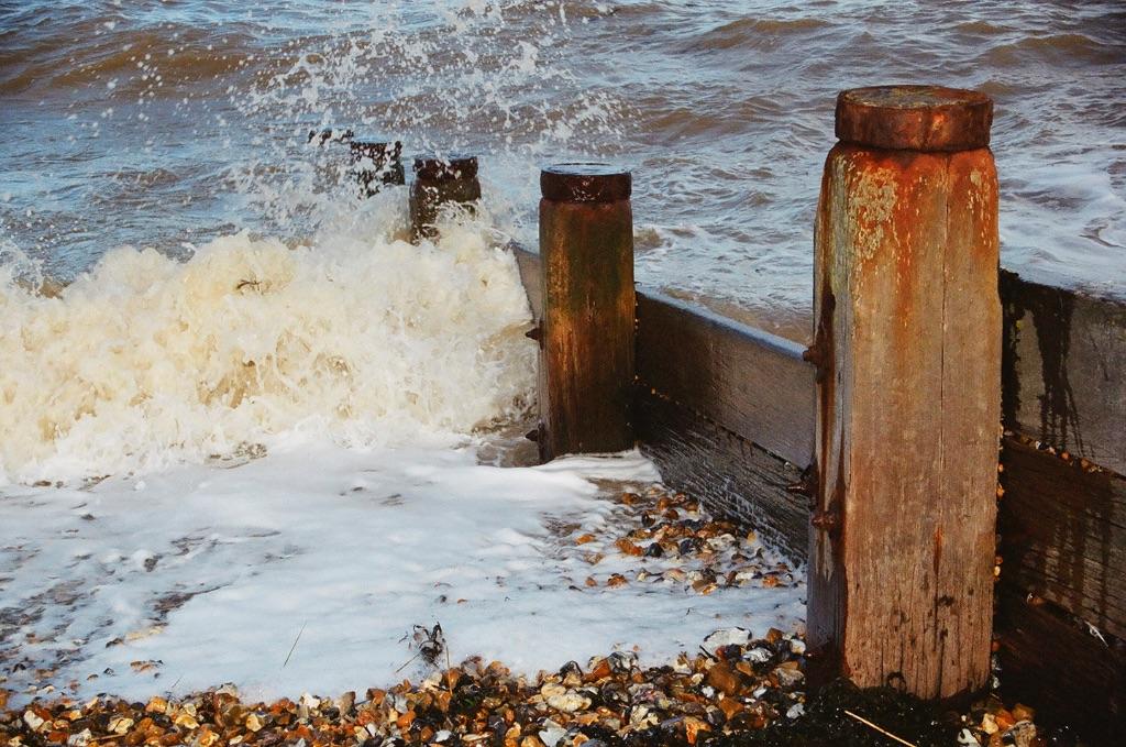 Breakwaters and Sea, Whitstable