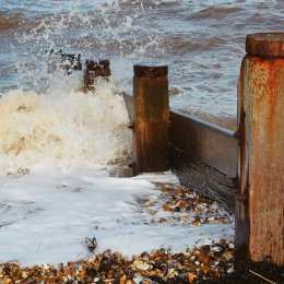 Breakwaters and Sea, Whitstable