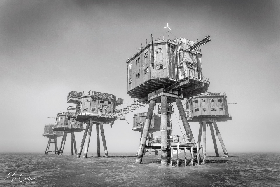 The Red Sands Fort. 2018. Mono