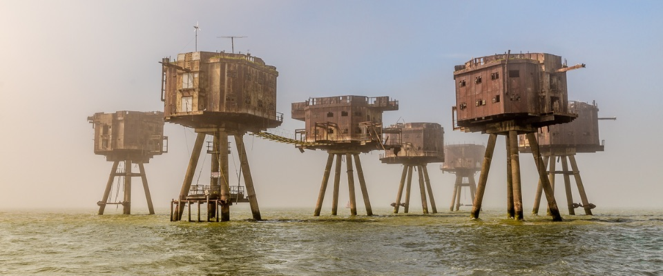 The Red Sands Fort. 2018