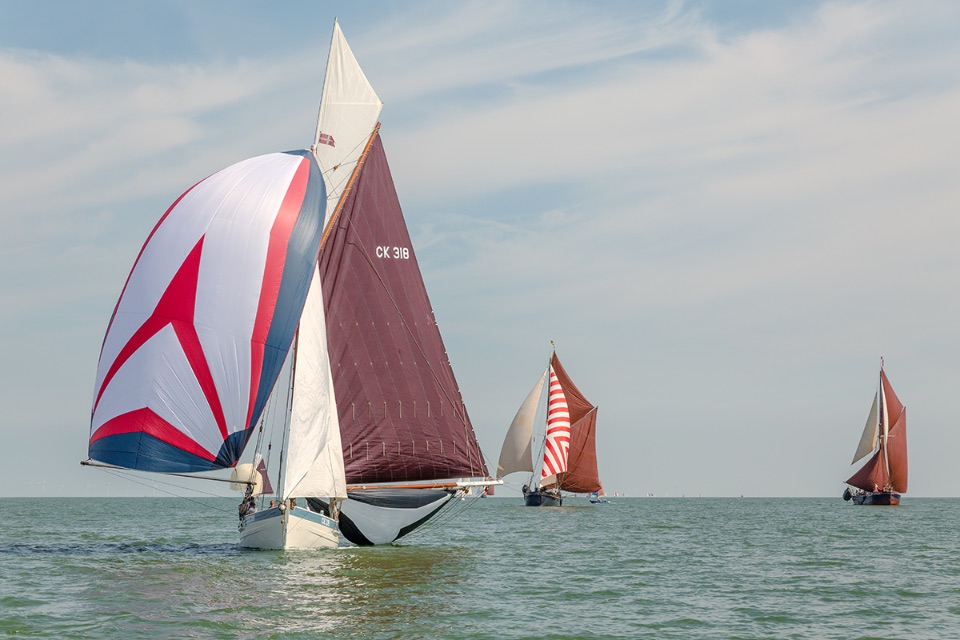 Swale Smack and Sailing Barge Match, 2018.