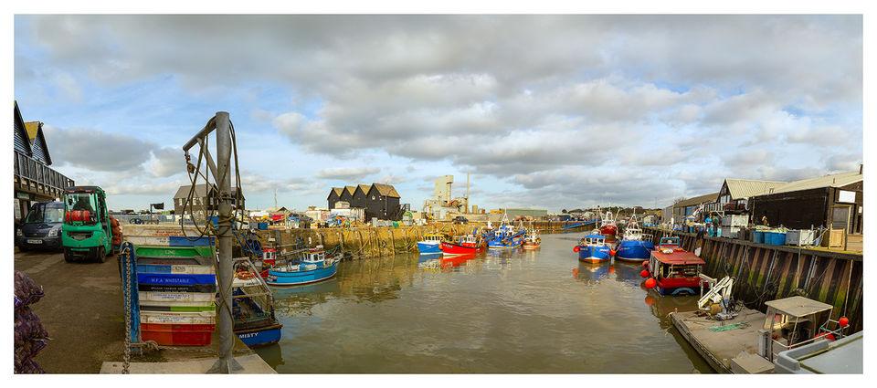 February Harbour, Whitstable