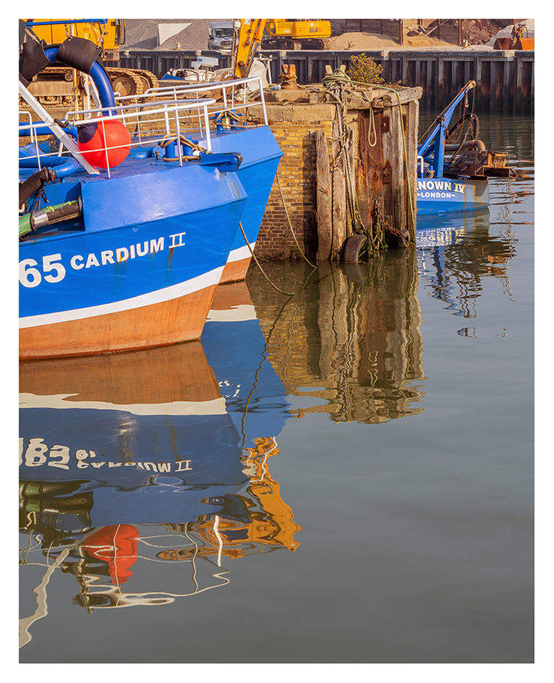 Harbour Reflections, Whitstable