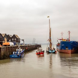 Busy Harbour, Whitstable