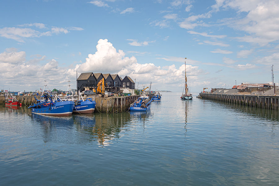 Greta and Whitstable Harbour