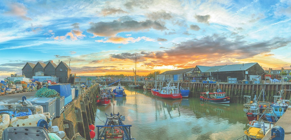 Sunrise over Whitstable Harbour