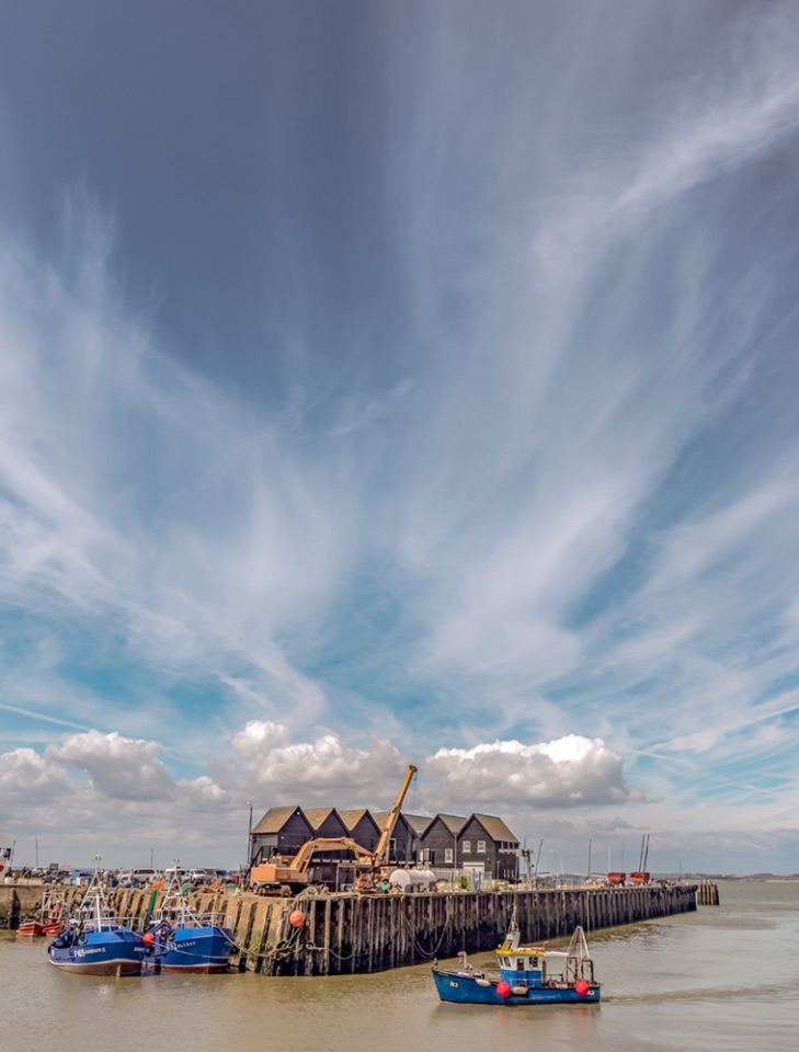 Big sky, Whitstable Harbour