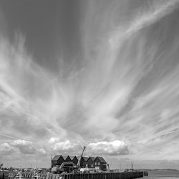 Big Sky.....Whitstable harbour