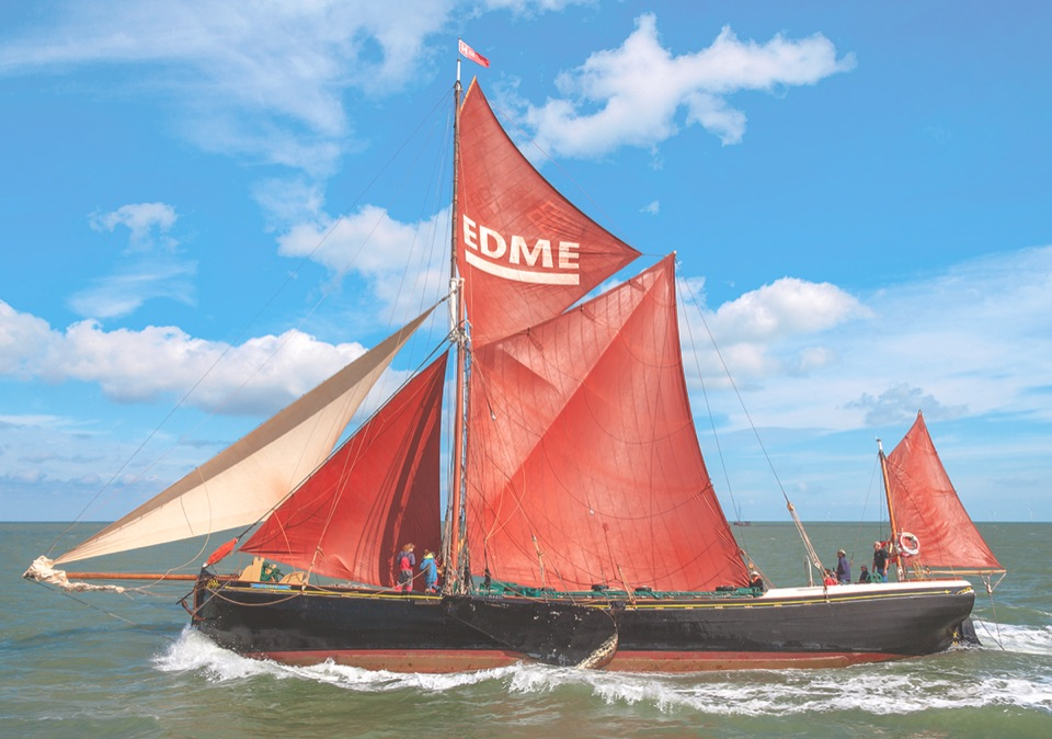Edme leading the Swale Match