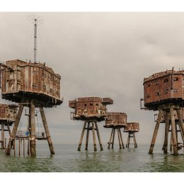 The Red Sands Forts