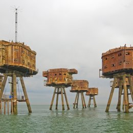 The Red Sands Towers