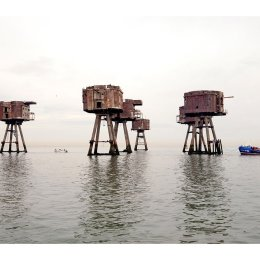 The Shivering Sands Fort with Cardium F165