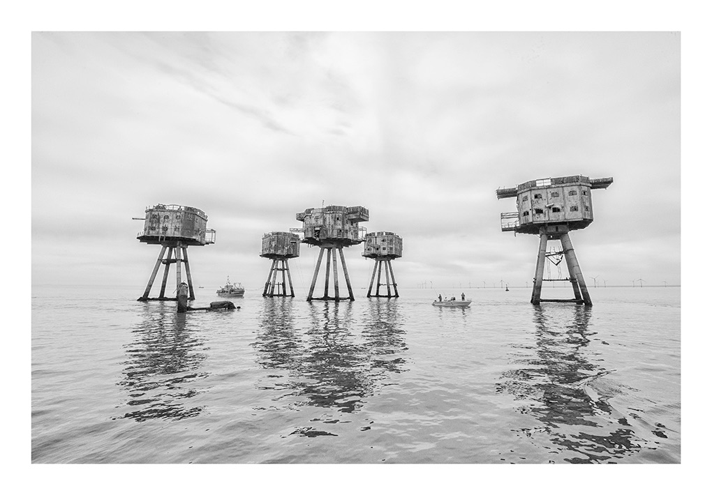 The Shivering Sands Forts & look out Tower II - mono