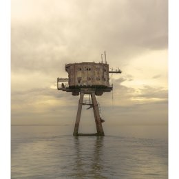 A tower at sundown - Red Sands