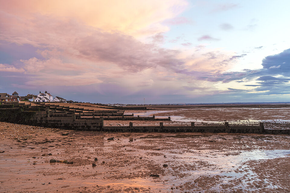Low Tide, Whitstable and the Old Neptune