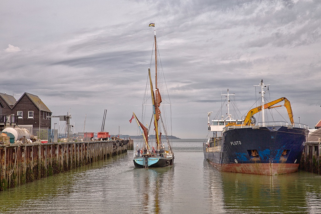 Greta and Pluto, Whitstable Harbour