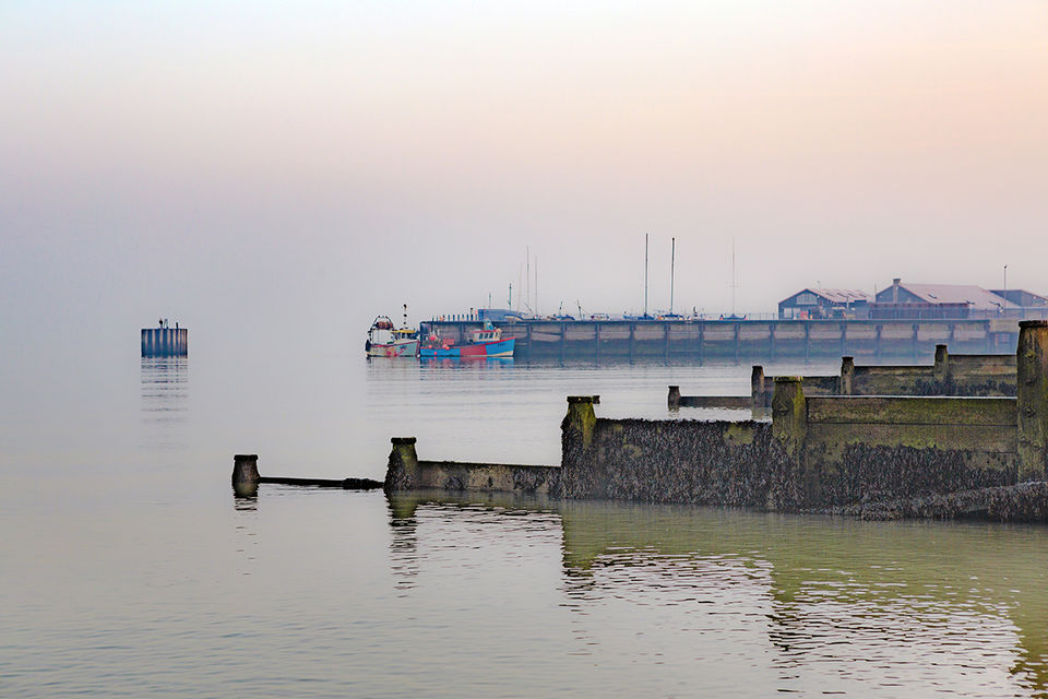 Misty morning, Whitstable