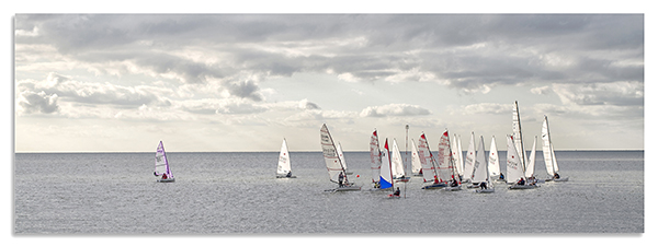 Dinghy race, Whitstable