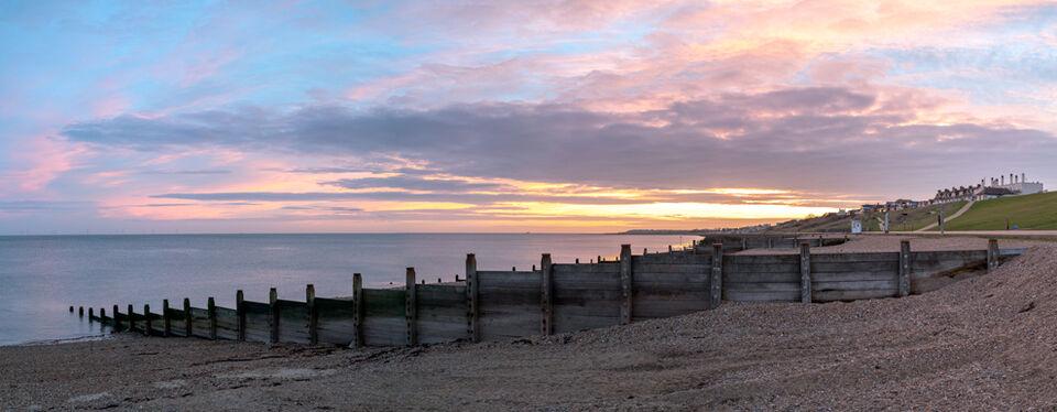 Tankerton Sunrise - panoramic