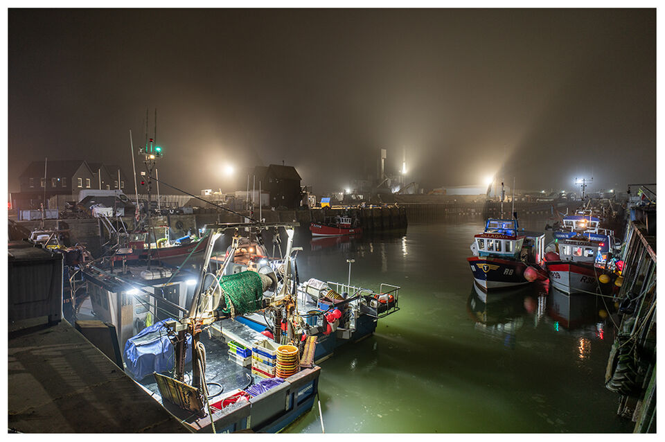 Early start..........Whitstable Harbour