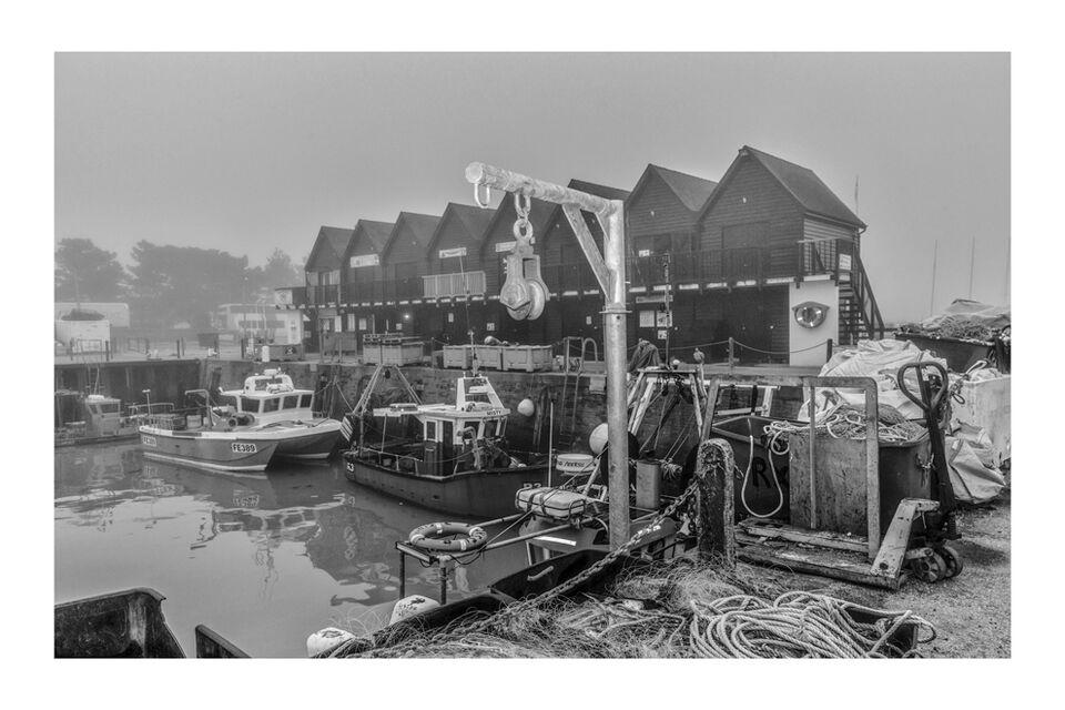 Early morning fog. Whitstable Harbour 2021