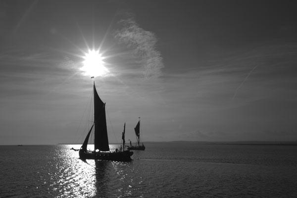 Sunrise on the Swale