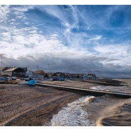 And the clouds passed, Whitstable