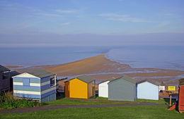 The Street and beach huts