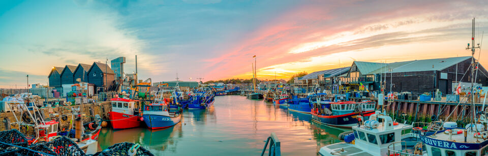 Sunrise - Whitstable Harbour III