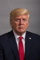 Trump. Presidential Wax Museum. USA.