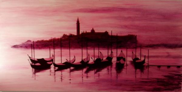Venice Dawn acrylic on canvas