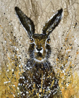 Clare Hare ink on tissue