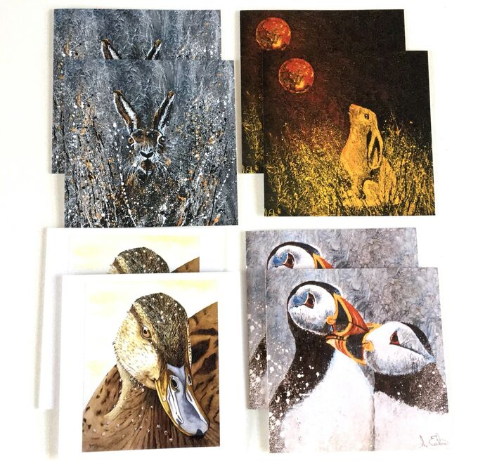 Wonderful Wildlife pack of 8 for the price of 6 cards £15